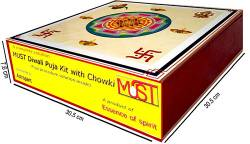 MUST Diwali Puja kit with Chowki